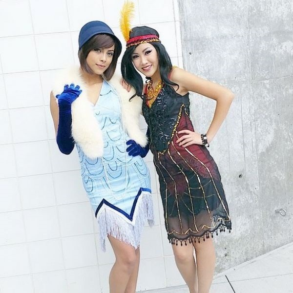 Flapper Legend of Korra Cosplay via Fashionably Geek