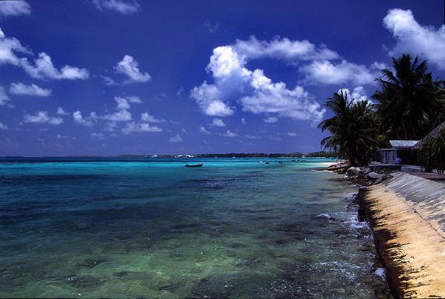 Funafuti Atoll Beach, Tuvalu