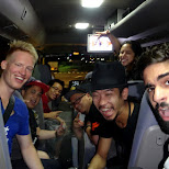 the party bus to Red Bull Thre3Style at Ageha in Tokyo in Tokyo, Tokyo, Japan