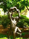 Statue in the Botanical Garden, St. Louis, Missouri.