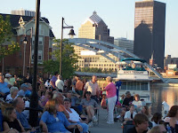 Free summer concerts at the river