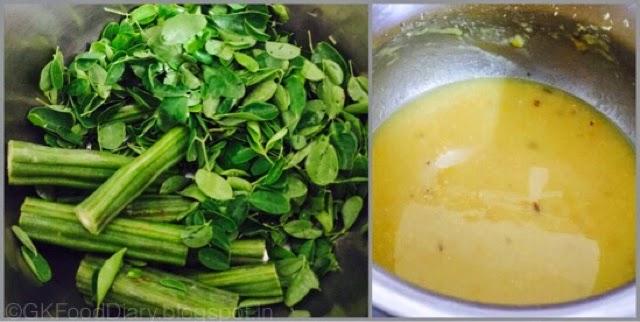 Poricha Kuzhambu Recipe| Drumstick leaves Poricha Kulambu|kuzhambuRecipes 2
