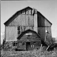 Date: 2008  Location: Outside Toronto  Story: Progress decrees that this lovely old barn is part of our disappearing history. Enough said.