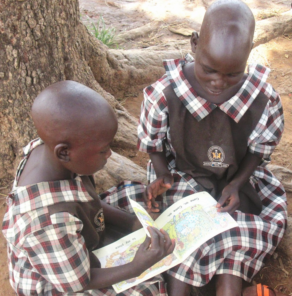 ECDC girls reading