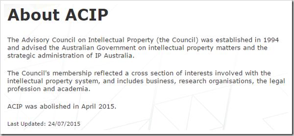 About ACIP