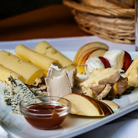 CHEESE! by Jess van Putten - Food & Drink Meats & Cheeses ( platter, food, yummy, cheese, delicious )