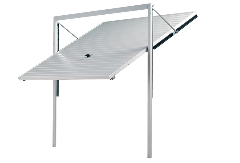 Garador canopy Up & Over door with frame