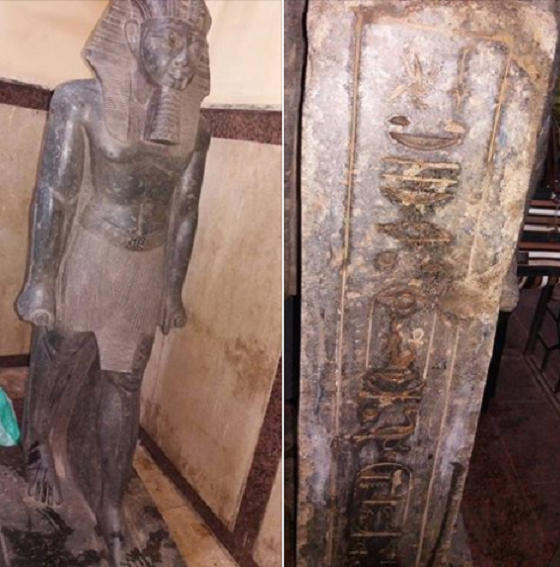 Amenhotep III statue recovered in Egypt