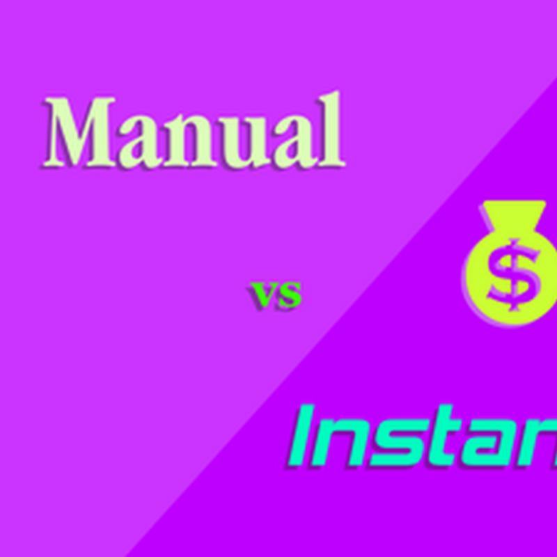 Pilih pembayaran manual atau instant saat beli domain di Niagahoster