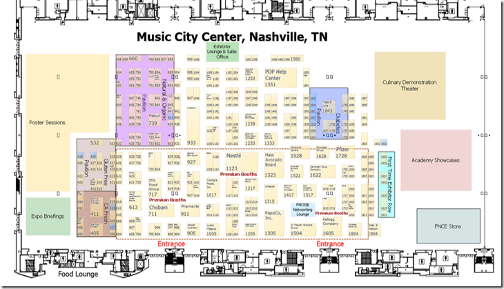 FNCE floor plan
