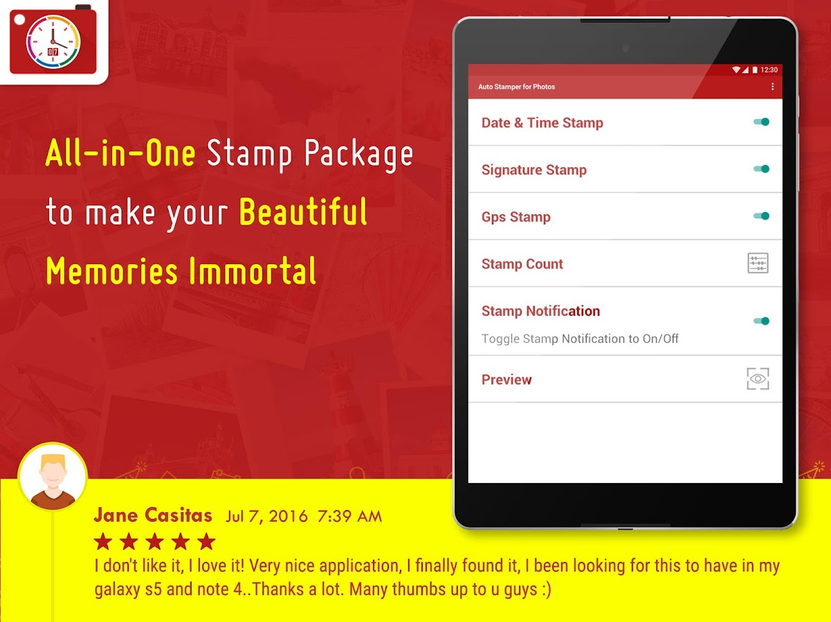Auto Stamper: Stamp your Photo Screenshot 19