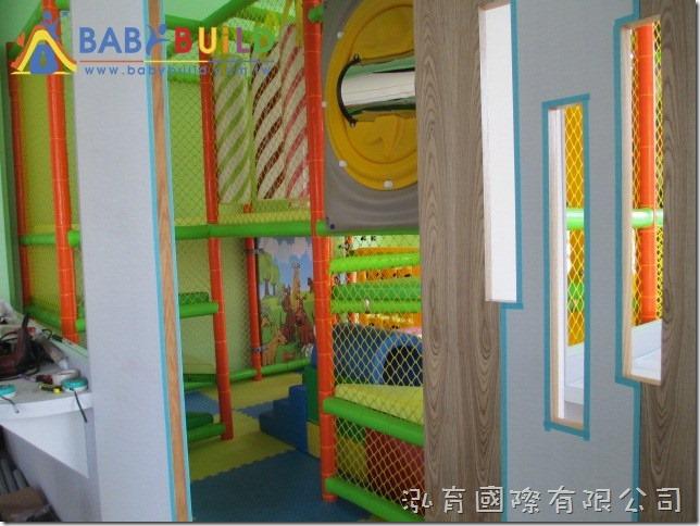 BabyBuild 室內3D泡管兒童遊具完工照