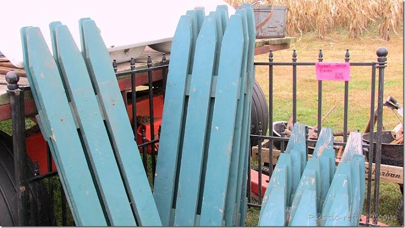 Salvaged Fence Panels