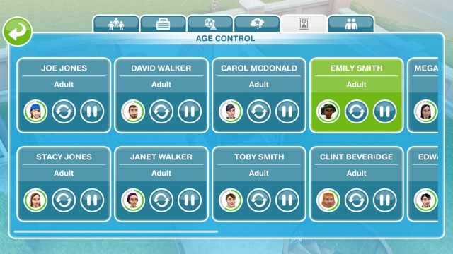 sims freeplay controls