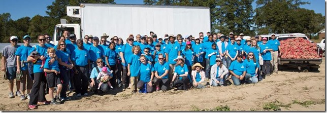 Bayer Volunteers