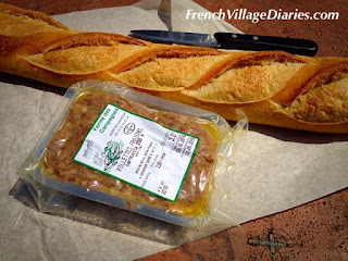 French Village Diaries Mini Cooper Road Trip rillettes from Rocamadour