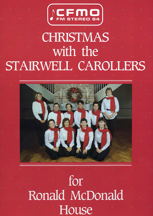 Stairwell Carollers First recording, 1985