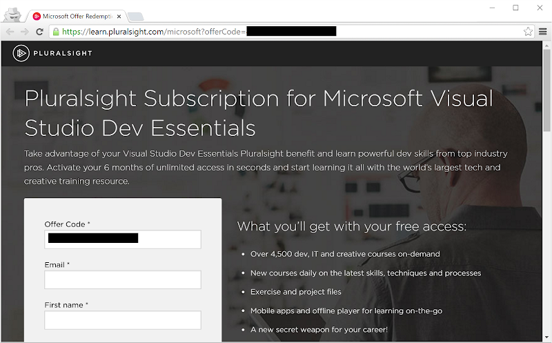 Get more awesome Pluralsight content than ever for zero dollars!