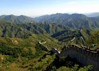 Mur wije się przez wiele kilometrów.