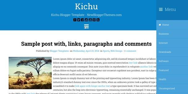 kichu-template