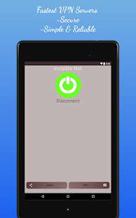 App Invisible NET Free VPN Proxy Hide IP Speed VPN APK for Kindle