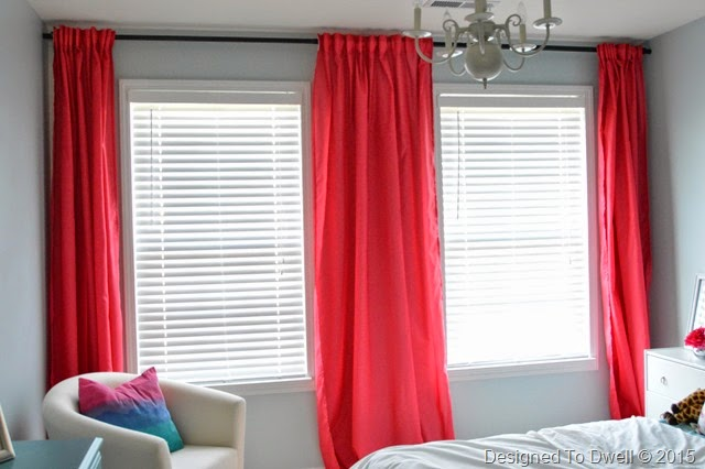 Ikea Vivan Pink Curtains