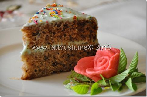 وصفة كيك  الهمينجبرد أو كعكة الأناناس وجوز الهند من www.fattoush.me