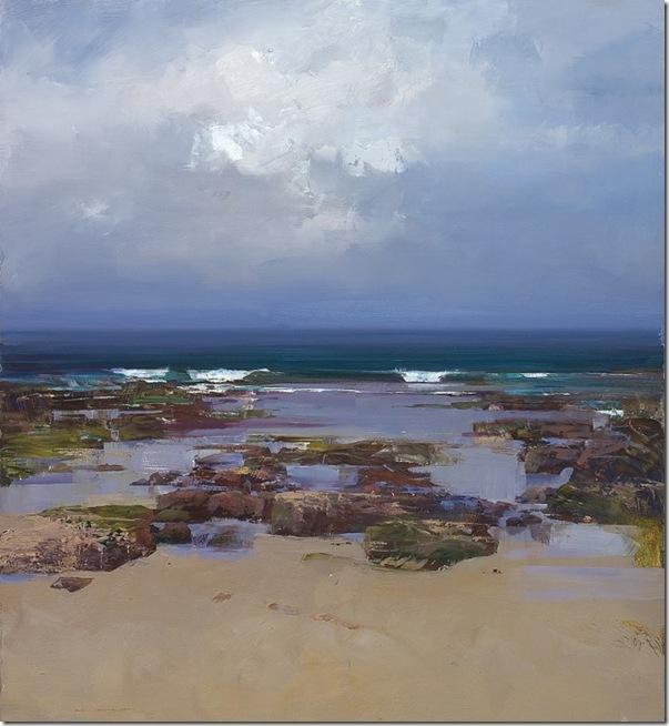 Ocean and Earth -Ken-Knigth-ENKAUSTIKOS