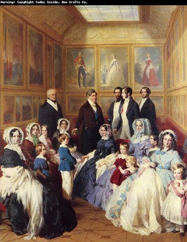 Reina Victoria y Principe Alberto 1845 Winterhalter