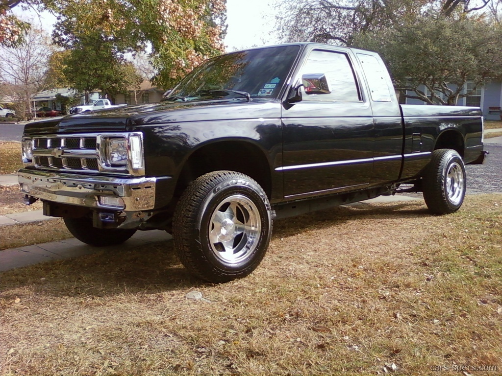 1993 Chevrolet S 10 Regular Cab Specifications Pictures Prices