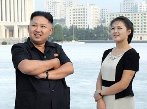 韩媒称金正恩夫人已近40天未露面疑遭封杀