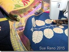 Sue Reno, Raccoon and Apple, WIP18