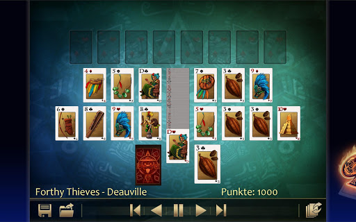 Solitaire 220plus (english) - screenshot