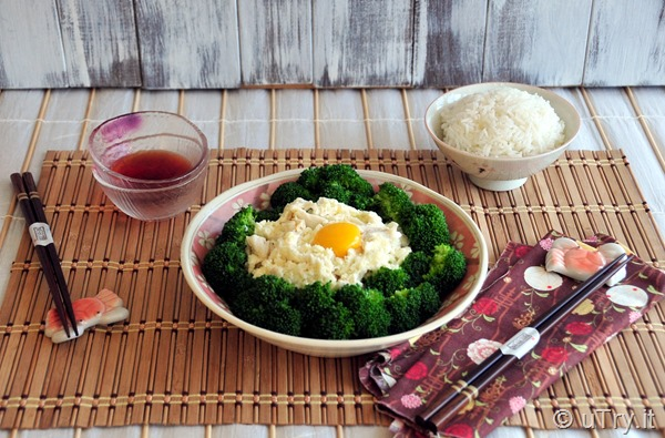 Check out how to make this popular ShangHai Dish: Broccoli with Egg Whites and Crab Meat 賽螃蟹  It's quick and easy.  A healthy dish that your family will love.   http://uTry.it