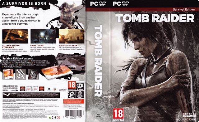 Tomb Raider Survival Edition PC [Español] [ISO] [2013] [BIN]