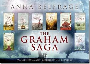 Anna Belgrage Banner of books