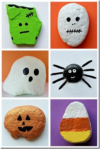 manualidad-halloween-piedra