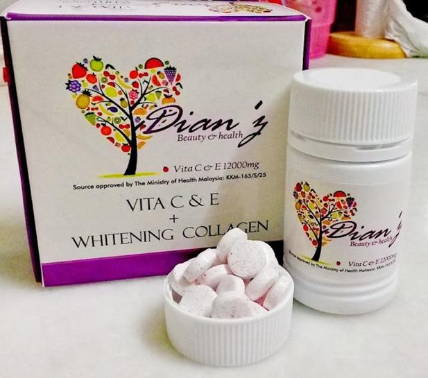 Produk Kecantikan Terlaris-Dianz Vitamin C & E dari Dianz Pixy