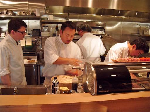 Taichi and crew at Tamura