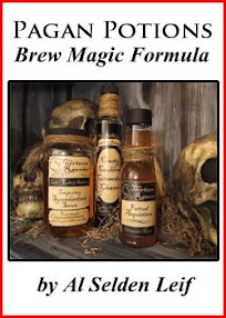 Cover of Al Selden Leif's Book Pagan Potions Brew Magic Formula