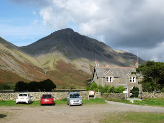 Great Gable from the car park