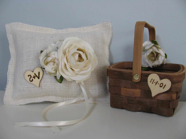 Jewish Ring Bearer Pillow