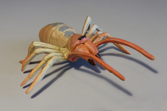 I Customized The Figure To More Closely Resemble Mojave Desert Solpugid Yellow Brown In Color