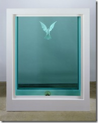 ART HK 10. White Cube. Damien Hirst The Inescapable Truth 2005