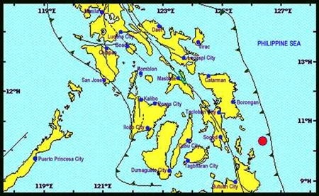 Surigao del Norte earthquake Jul 3 2015