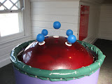 Levitating balls at the Magic House in St Louis 03202011