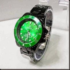 Rolex 6012 Ladies Black Green