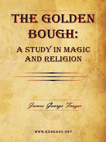 Cover of Sir James George Frazer's Book The Golden Bough A Study Of Magic And Religion