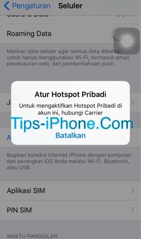 Mengatasi Hotspot Pribadi iPhone Tidak Bisa Diaktifkan