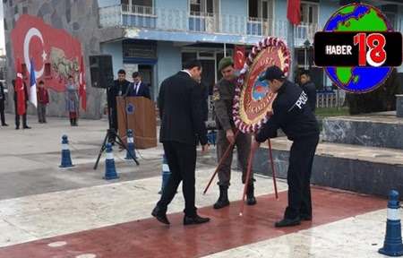 Çankırı orta İlçesinde Atatürk'ü Anma programı düzenlendi